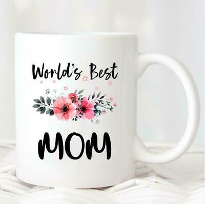 World/'s Best Mom Mug Gif   Mug Coffee Mug Mom Mug Birthday Gift For Mom Mug
