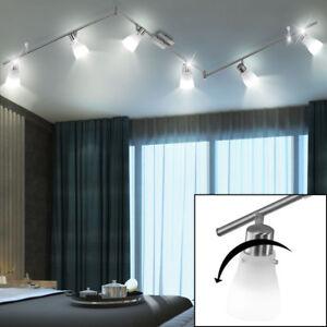 Licht Esstisch led decken strahler schwenkbare spots licht schiene esstisch