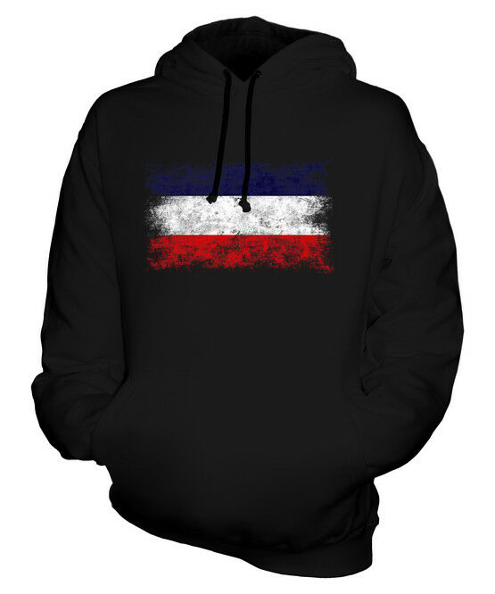 LOS ALTOS DISTRESSED FLAG UNISEX HOODIE TOP FOOTBALL GIFT  CLOTHING JERSEY
