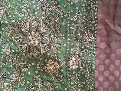 4 Partito Wear Asiatico Pakistano Shalwar Kamez Panjabi Tuta Utilizzata Indiano Taglia Uk 12-mostra Il Titolo Originale