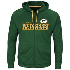 4bb91a0f NFL Green Bay Packers Majestic Men's Game Elite Full Zip Hoodie 2xl