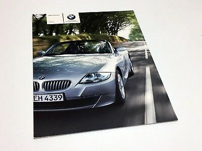 sainchargny.com Auto & Motorrad: Teile Automobilia Prospekt BMW Z4 ...