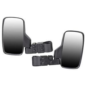 Black-Side-View-Mirror-Set-04-2019-Yamaha-Rhino-Viking-IV-450-660-700-Wide-View