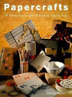 """""""PAPERCRAFTS"""" SOFTBACK BOOK 50 EXTRAORDINARY GIFTS & PROJECTS STEP BY STEP"""
