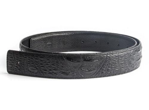 ALLIGATOR Stile Da Uomo Designer Cinture in Pelle per gli uomini H Cintura Cinghia Fibbia non solo