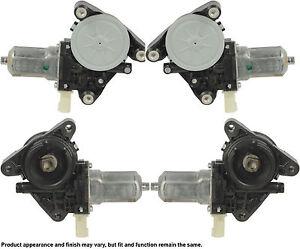 08-10 11 Ford Escape Mercury Mariner Power Window Lift Motor Set Of 4 Front Rear