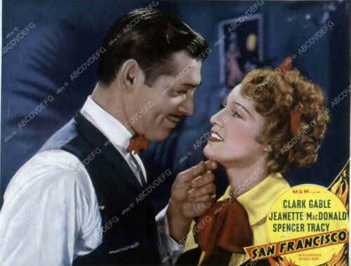 35m-7780 Clark Gable Jeanette MacDonald film San Francisco 35m-7780