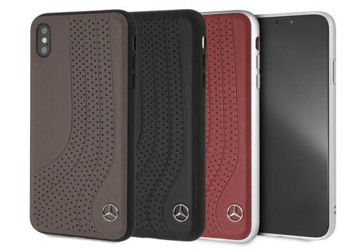 Con Licenza Ufficiale Mercedes Premium Cellulare Custodia in pelle per Iphone XS
