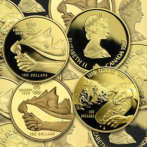 1987-2005-Canada-1-4-oz-Proof-Gold-100-Random-Year-SKU-68356