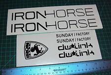 Iron Horse Sunday Bike Decals Stickers MTB Racing 7Point DH TLD dw Link