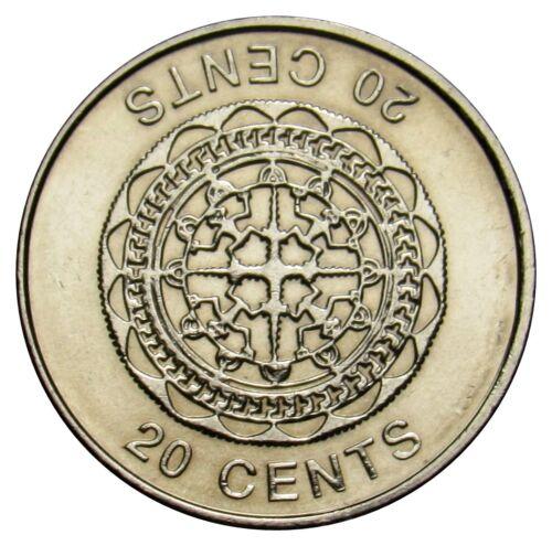 Solomon Islands 20 Cents coin 2012 KM#236 AU-UNC Malaita pendant