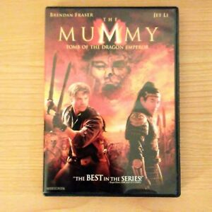 The Mummy Tomb Of The Dragon Emperor 2008 Dvd Widescreen Ebay