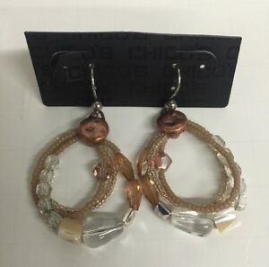 Image Is Loading Fashion Jewelry Name Brand Earrings Multi Color Tan