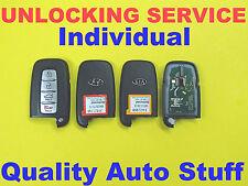 Unlock Hyundai Kia Smart Key FOB Proximity Remote Reflash Service SY5HMFNA04