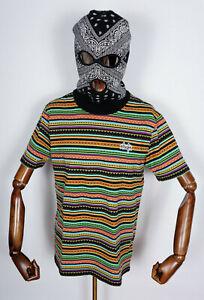 Huf Worldwide Skateboard T-Shirt Tee Topanga Knit Top Poppy in M