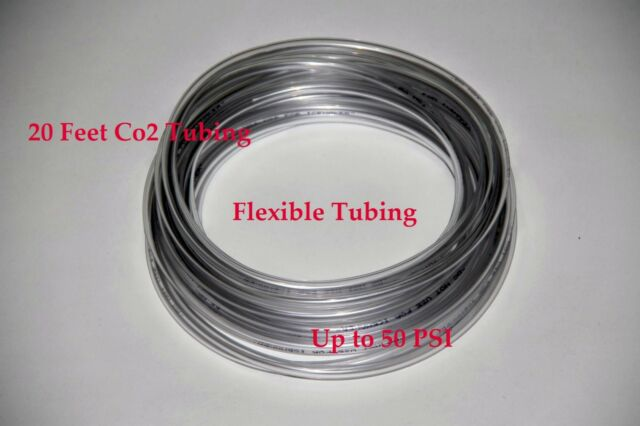 20 feet co2 flexible resistant tubing hose 50 psi high quality
