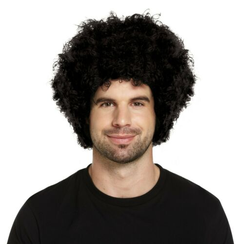CURLY AFRO BLACK WIG FANCY DRESS PARTY CLOWN FUNKY DISCO MEN//LADIES 70S COSTUME
