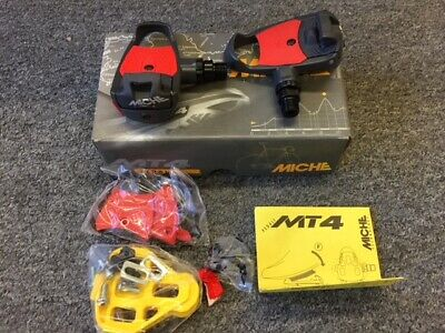 Tension adjuster MICHE MT 4  Clipless Pedals with cleats