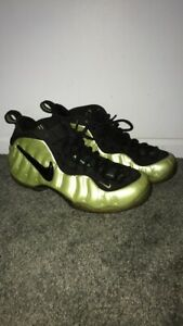online store 1eabc 9e044 Details about Nike Foamposite Pro Electric Green Size 11.5 Slime One Black  White