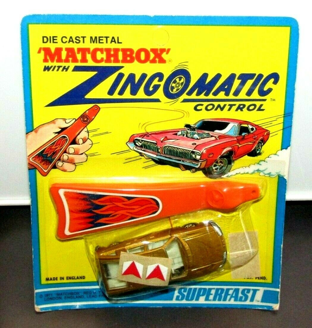 MATCHBOX SUPERFAST Nº 56 BMC Pininfarina or zingomatic blister scellé