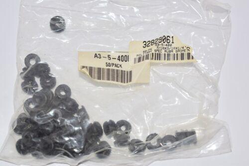 1//8/'/' Slot Width 32829061 7//16/'/' OD Lot of 50 NEW Buna-N Rubber 1//4/'/' Grommet