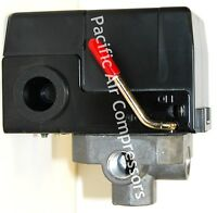 Air Pressure Switch 120 Volt 95-125 Psi Adjustable Four Port 1/4'' Furnas