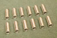 11 Microflite Fiberglass Arrow Aluminum Point Inserts - Dozen