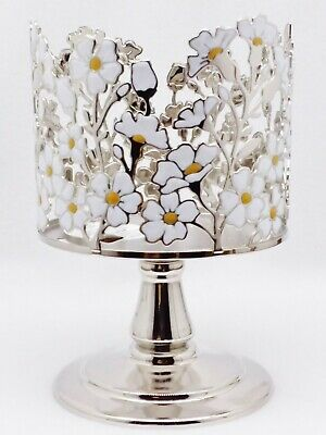 1 Bath /& Body Works BUTTERFLY PEDESTAL Large 3-Wick Candle Holder Sleeve 14.5 oz