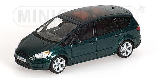 Minichamps 400085401 Ford s-Max - 2006-vert Metallic - 1 43  neu en OVP