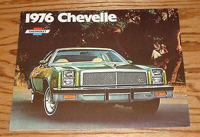 LAGUNA S-3 MALIBU 1976 CHEVROLET CHEVELLE BROCHURE // 76 CHEVY CATALOG