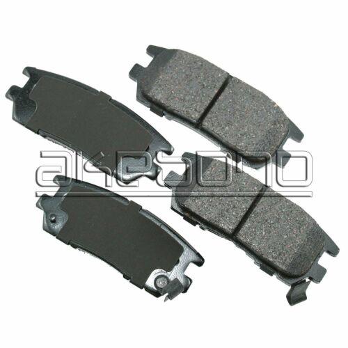 Akebono ProAct Ultra-Premium Ceramic Disc Brake Pads ACT567