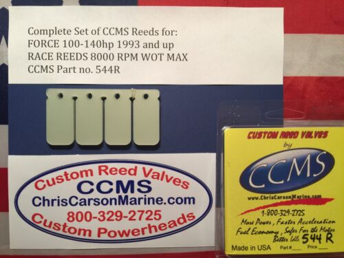 CCMS Force Racing Outboard Reed Reeds 100-140 hp 1993-up PN544R