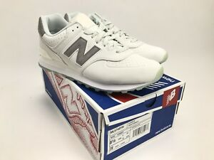 new arrival bc2e1 2a636 Details about New Balance 574 Lux Rep Lifestyle Sneaker Nimbus Cloud/White  (ML574SYH) Sz 8.5