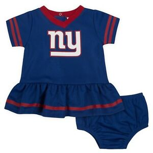 f65243527 New York Giants Baby Dazzle Dress   Panty Set - Gerber NFL Newborn 3 ...