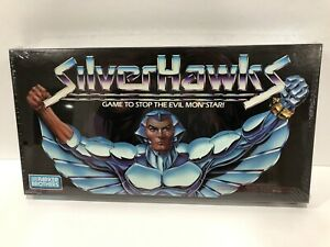 1987 Silverhawks Board Game Parker Brothers SEALED Rare