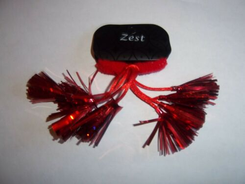 Pack Of 2 Red Christmas Tinsel Hair Bobbles