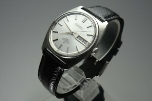 OH-Vintage-1970-JAPAN-SEIKO-LORD-MATIC-WEEKDATER-5606-7000-23Jewels-Automatic