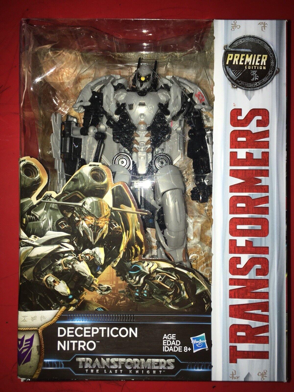 Transformer Decepticon  Nitro Premier Edition Voyager Class New in Box very rare
