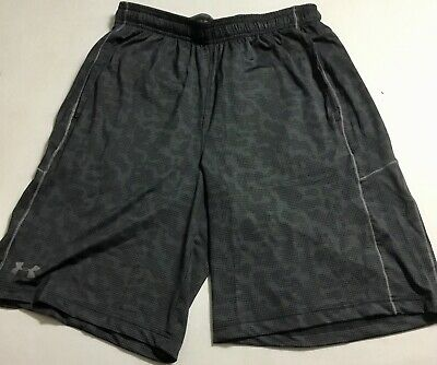 Under Armour MEN/'S Athletic Shorts Loose Heat Gear Green Print 1291322 Size M