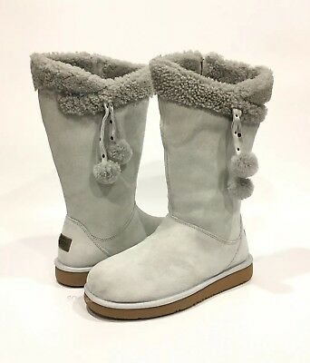 3b654c650cb UGG PLUMDALE CUFF TALL BOOTS GREY VIOLET SUEDE -US SIZE 9 -NEW 191142992367  | eBay