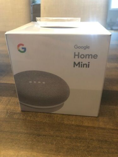 multiple available Google Home Mini Chalk NEW IN BOX