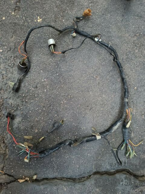 1978 Kawasaki Kz1000ltd Wiring Harness Complete No Cut