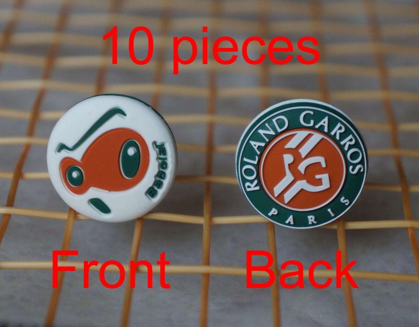 KiTki BABOLAT Roland Garros Loony Damp French Open tennis vibration dampener x10