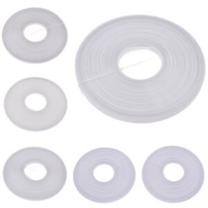 40x Uncovered Polyester Boning 40mx12mm White Sewing Craft Tool Hobby