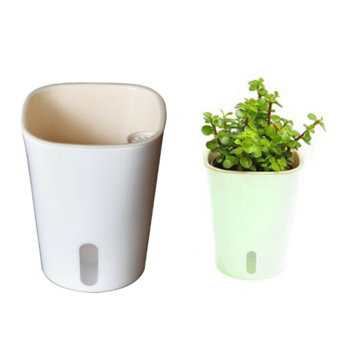 2Pcs Modern Self Watering Planter Large Pots Flowers Pots for All House Plants