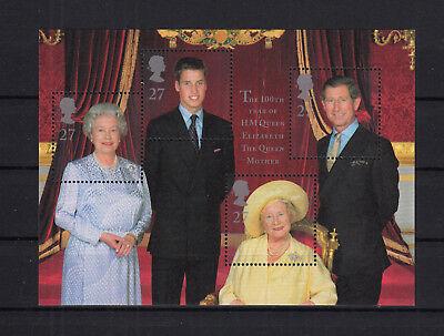 Block 9 ** 104729/ Großbritannien 2000 M€ 14,00 Direktverkaufspreis Royal Family