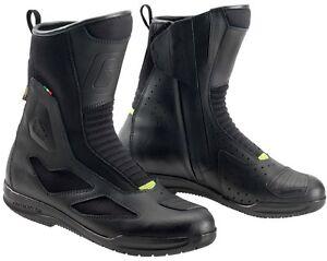 STIVALI-BOOTS-MOTO-PELLE-IMPERMEABILI-GORE-TEX-GAERNE-G-HYBRID-GTX-TG-45