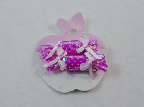 10 Pairs Girls/' Hair Barrettes ~ 2 Each X 5 Hard Candy Pastel Color Assortment