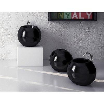 Disegno Ceramica Sfera Prezzi.Vaso Wc Terra Moderno Design Sfera In Ceramica Bianco O Nero Scarico A Parete Ebay