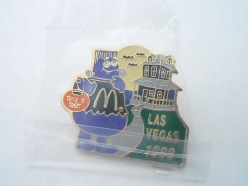 NOS Vintage McDonalds Advertising Enamel Pin #03 LAS VEGAS 1998